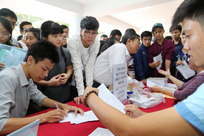 Tuyển sinh 2017 của các trường Bộ Giáo dục sẽ kiểm tra chỉ tiêu
