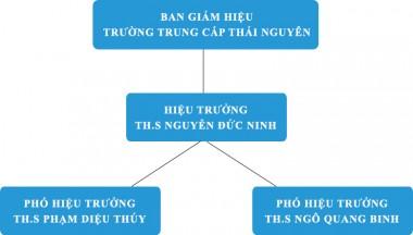 Cơ cấu tổ chức trường Trung Cấp Thái Nguyên