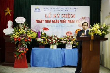 Lễ kỷ niệm chào mừng Ngày Nhà giáo Việt Nam 20-11