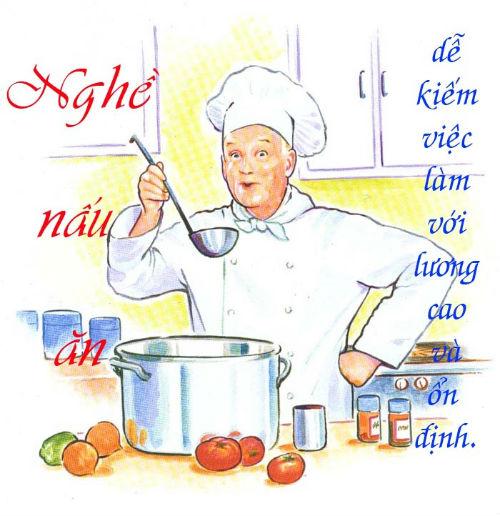 Vì sao nên học Nghề nấu ăn – Trung cấp Nấu ăn?
