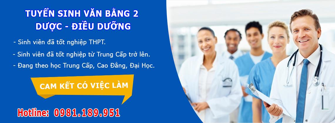 Tuyển sinh văn bằng 2 cao đẳng dược Hà Nội